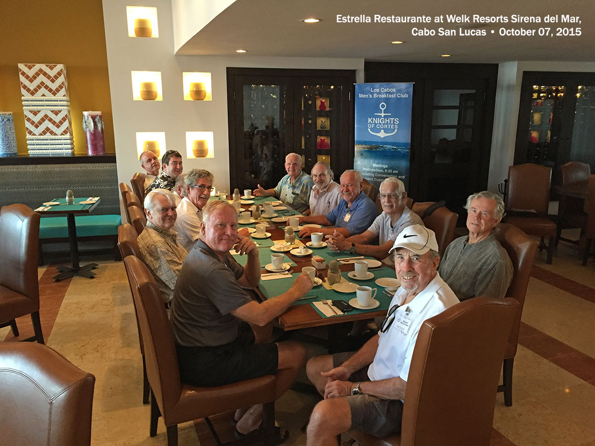 Estrella Restaurante at Welk Resorts Sirena del Mar, Cabo San Lucas • October 07, 2015